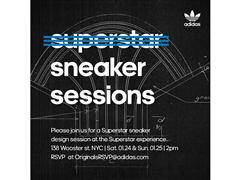 Superstar Sneaker Sessions at adidas Originals Superstar Experience