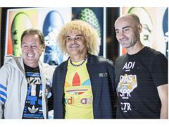 Valderrama, Montero y Aguinaga se unen a la revolución del fútbol