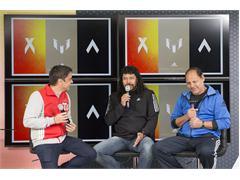 Rene Higuita y Roberto Cabañas nos acompañaron en adidas Casa América