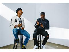 Pharrel Williams & Pusha-T Discuss Creativity at adidas Originals Supershell Event