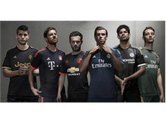 "adidas Unveil ""Spark in the Night"" Third Kits for New Season"