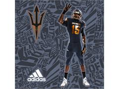 Arizona State & adidas Unveil New 'Be The Hammer' Alternate Football Uniforms