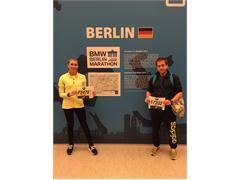 Chile representa en la Maratón de Berlín