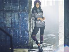 Selena Gomez gets wrapped up in Sports Luxe for her adidas neo Winter Collection