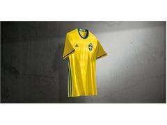 Sweden's national team reveals new jersey in the light of deciding playoff game against Denmark