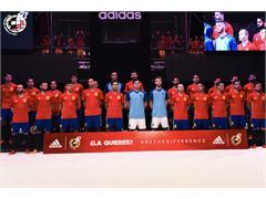adidas y la Real Federación Española de Fútbol han presentado la nueva equipación para la Eurocopa de Francia