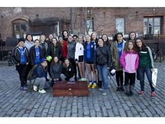 adidas Soccer Athletes Surprise NY Fans on Hunt for World Cup Victory Box