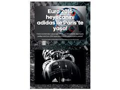 adidas ile EURO 2016'yı Paris'te izle