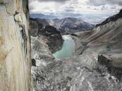 Mayan Smith-Gobat secures Riders on the Storm ascent (7c+)