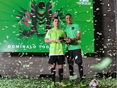 Keylor Navas ha presentado sus adidas ACE 16 en un evento en Madrid