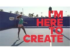 「I'm Here to Create」 プロテニスプレーヤー大坂なおみ選手登場