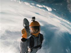 Highspeed-Schuhlieferung aus 3000 Metern