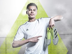 Dele Alli ready to take on the best in Europe as he stars in latest First Never Follows film from adidas