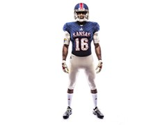 University of Kansas & adidas Unveil Retro 'Limestone' Alternate Football Uniforms