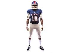 University of Kansas & adidas Unveil Retro 'Limestone' Alternate Football Uniforms