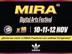 adidas Originals estará presente en MIRA Digital Arts Festival 2016 patrocinando el MIRA Dome by adidas Originals y la adidas NMD Room