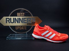 adizero adios Boost 3.0  Recognised By Runner's World International For Best Update Award