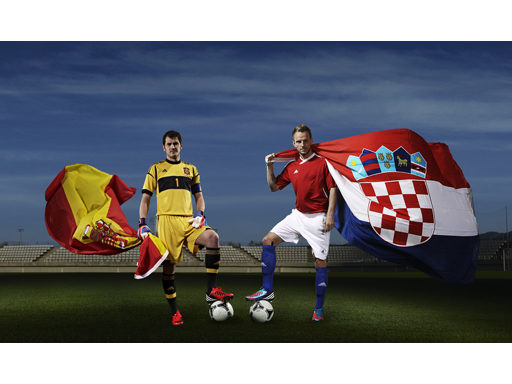 Image : Spain vs Croatia