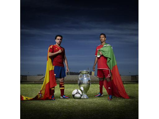 Image : Spain vs Portugal