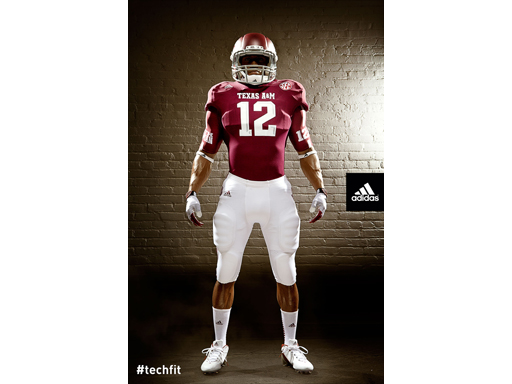 adidas Texas A&M Lone Star Uniform_FRONT