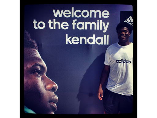 Image : adidas Signs Kendall Wright