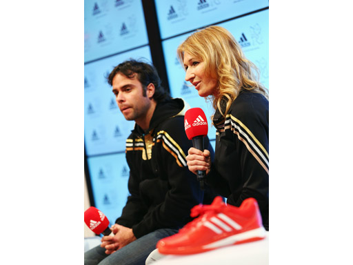 Image : Steffi Graf and Fernando Gonzalez Q&A session