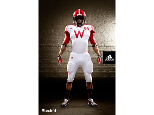 Image : adidas Wisconsin Unrivaled Uniform FRONT