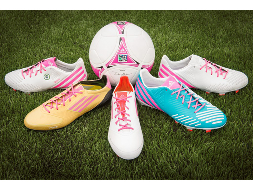 Breast Cancer Awareness Month mi adidas Cleats