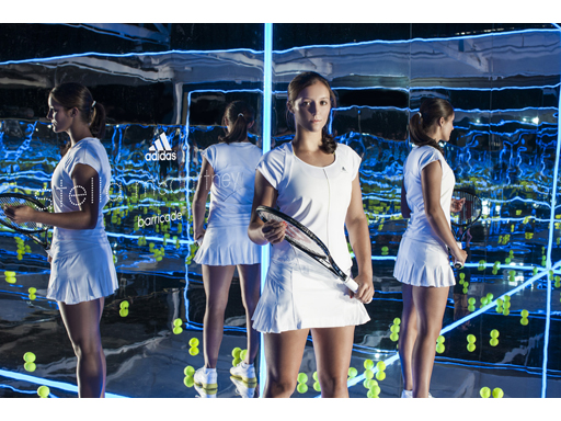 adidas by Stella M barricade launch Australian Open Melbourne