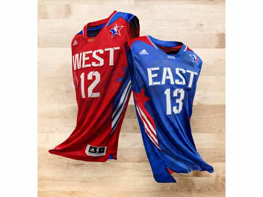 Image : adidas NBA All-Star East-West Jersey