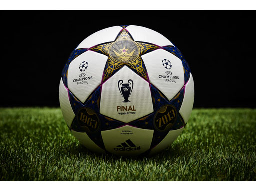 The adidas UCL Wembley Finale official match ball