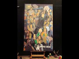 FIFA 2010 WORLD CUP ADIDAS GOLDEN GLOVES PAINTING-3 JUNE 23