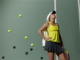 Caroline Wozniacki to wear new  adidas by Stella McCartney fall/winter 2010 tennis dress