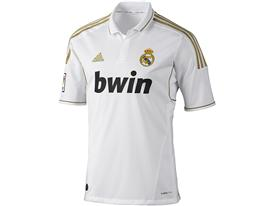 Real Madrid 11/12 Home Jersey