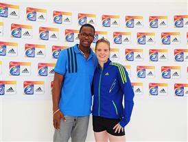 Dayron Robles (CUBA 110m hurdles) and Silke Spiegelburg (GER Pole Vault).