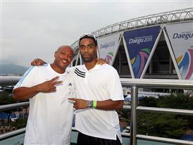 adidas media centre IAAF World Championships Daegu - Day 4