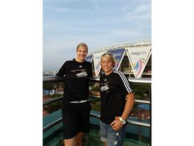 adidas media centre IAAF World Championships Daegu - Day 6