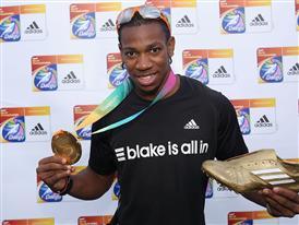 Yohan Blake (100 meters, JAMAICA)