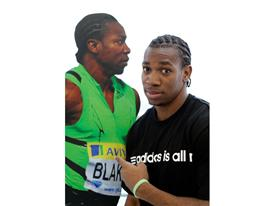 Yohan Blake becomes 100m champion in adizero prime