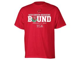 adidas Bound Shirt Wisconsin