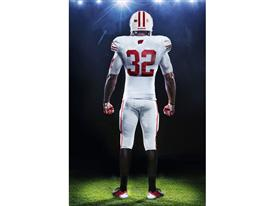 Wisconsin adidas Rose Bowl Uniform