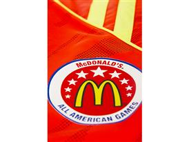 McDonald's All American adizero East Uniform Details