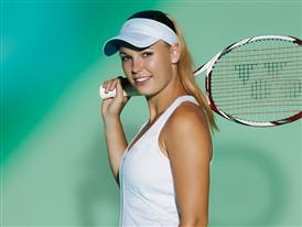 Caroline Wozniacki outfit for Wimbledon Image 2