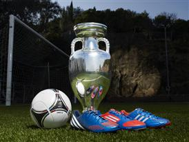 adidas Tango 12, adidas boots and official trophy for UEFA Euro 2012