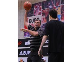 Kevin McHale - adidas Eurocamp 2012 - Day 2
