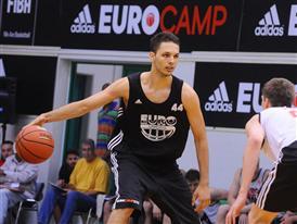 Evan Fournier - adidas Eurocamp 2012 - Day 2