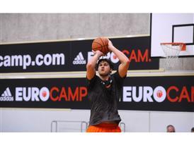 Danilo Gallinari - adidas Eurocamp 2012 - Day 2