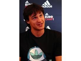 Danilo Gallinari - adidas Eurocamp 2012 - Day 2 (2)