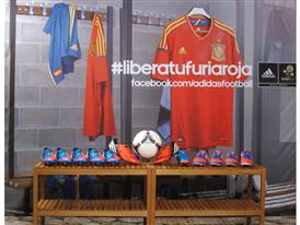 Spanish dressing room