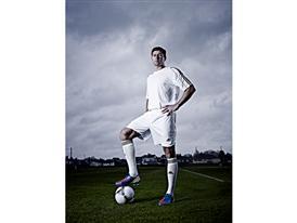 Steven Gerrard with the Tango 12